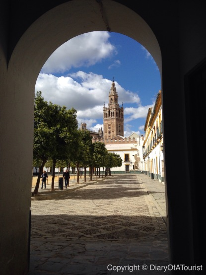 First view of the LaGiralda